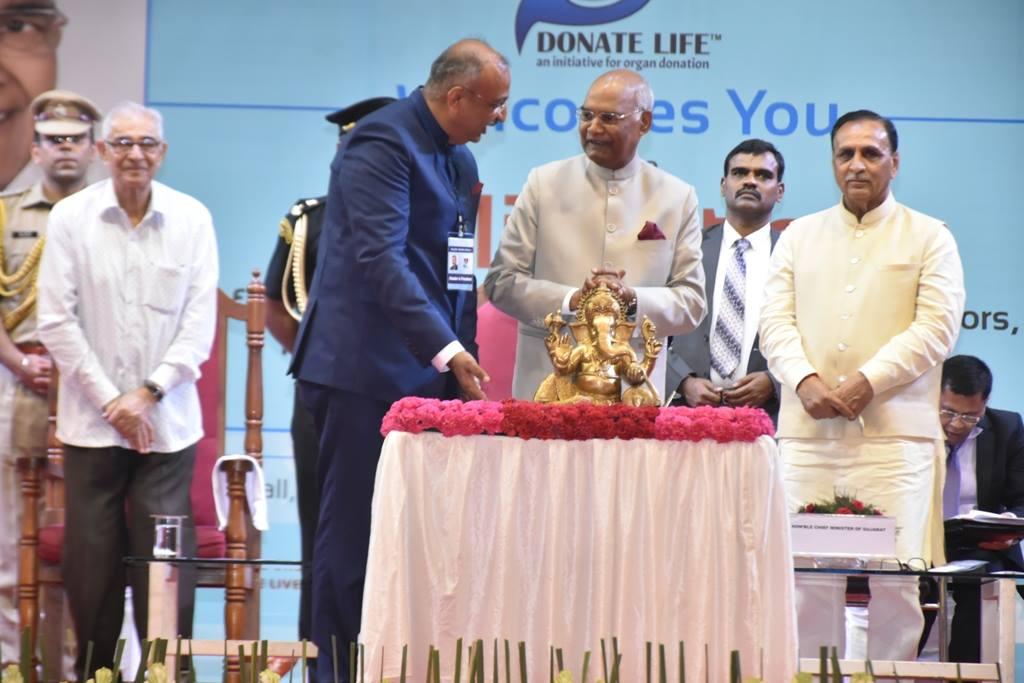 અંગદાન અને દેહદાનની ઉચ્ચત્તમ ભાવના અનેક જરૂરિયાતમંદ જિંદગીઓને નવજીવન બક્ષી રહી છે-: રાષ્ટ્રપતિ શ્રી રામનાથ કોવિંદ